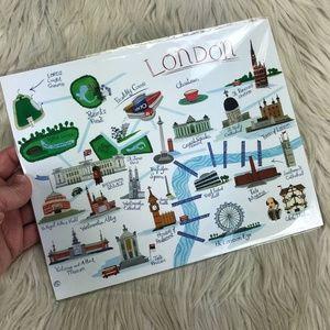 🐝 NEW - London Map Print / Art